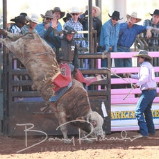 Mt Isa Rodeo 2019 - Sat Morning - Open Bull Ride - Sect 2