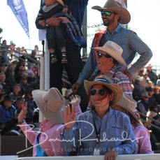 Mt Isa Rodeo 2019 - Sunday Afternoon -  Open Saddle Bronc Victory Lap