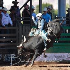 Mt Isa International Challenge 2019 - Aust v US - Bull Ride