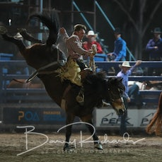 NQ Elite Rodeo 2019 - Open Saddle Bronc - Sect 1