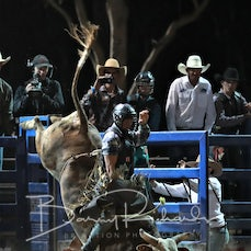 NQ Elite Rodeo 2019 - Fri Evening - Open Bull Ride - Sect 1
