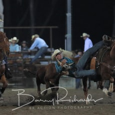 NQ Elite Rodeo 2019 - Fri Evening - Steer Wrestling - Sect 2