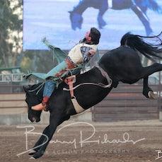 NQ Elite Rodeo 2019 - Sat Performance - Open Bareback - Sect 2