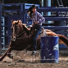 NQ Elite Rodeo 2019 - Sat Performance - Open Barrel Race - Sect 2