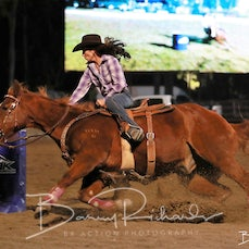 NQ Elite Rodeo 2019 - Open Barrel Race Chute Out