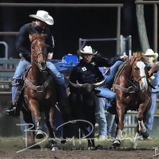 NQ Elite Rodeo 2019 - Steer Wrestling Chute Out