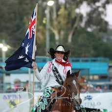 APRA NFR 2019 - Grand Entry - Rd 2