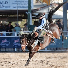 APRA NFR 2019 - Rd 4 - Open Saddle Bronc - Sect 2