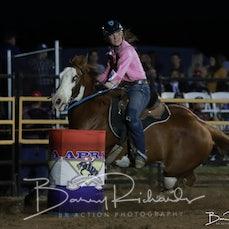 Gargett Rodeo 2019 - Junior Barrel Race - Sect 1