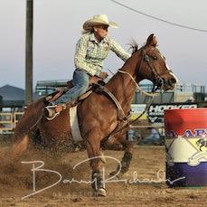 Gargett Rodeo 2019 - Open Barrel Race - Sect 1