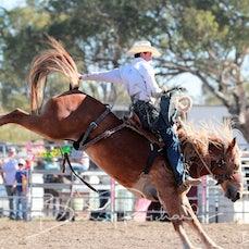 Springsure Rodeo 2019 - 2nd Div Saddle Bronc - Slack 1