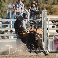 Springsure Rodeo 2019 - 2nd Div Bull Ride - Slack 1