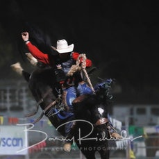 Springsure Rodeo 2019 - Open Saddle Bronc - Sect 1
