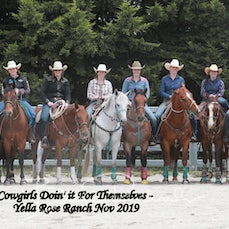 Cowgirls Doin' It Event - Group Photo - 2019 Competitors