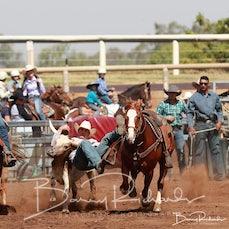 Comet Rodeo 2019 - Steer Wrestling - Slack 11