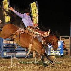 Yarrawonga Rodeo 2019 - Open Saddle Bronc - Sect 2