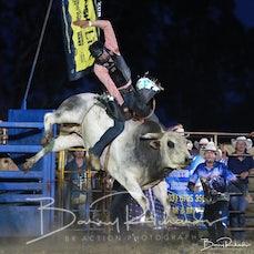 Yarrawonga Rodeo 2019 - Open Bull Ride - Sect 1
