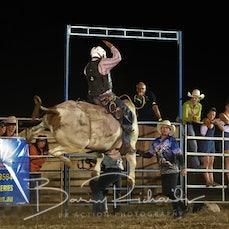Yarrawonga Rodeo 2019 - Open Bull Ride - Sect 2