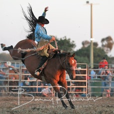 Yarrawonga Rodeo 2019 - Open Saddle Bronc - Sect 1