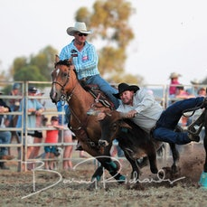 Yarrawonga Rodeo 2019 - Steer Wrestling - Sect 1