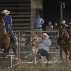 Yarrawonga Rodeo 2019 - Steer Wrestling - Sect 2