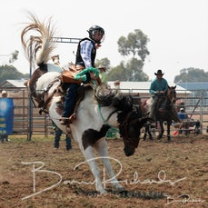 Yarrawonga Rodeo 2019 - 2nd Div Saddle Bronc - Slack 1
