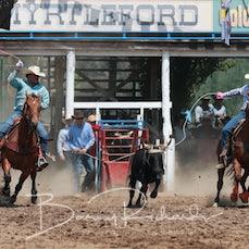 Myrtleford Rodeo 2019 - Team Roping - Slack 1