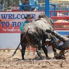 Myrtleford Rodeo 2019 - 2nd Div Bull Ride - Slack 1