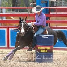 Myrtleford Rodeo 2019 - Open Barrel Race - Slack 1