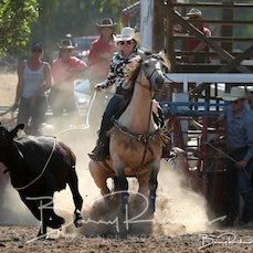 Myrtleford Rodeo 2019 - Breakaway Roping - Sect 1