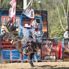 Myrtleford Rodeo 2019 - Open Saddle Bronc - Sect 1