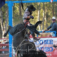 Myrtleford Rodeo 2019 - Open Bull Ride - Sect 1