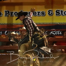 Myrtleford Rodeo 2019 - Open Bull Ride - Sect 2