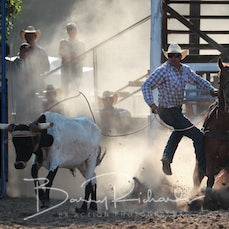 Myrtleford Rodeo 2019 - Rope & Tie - Sect 1