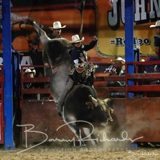 Myrtleford Rodeo 2019 - Open Bull Ride - CHUTE OUT