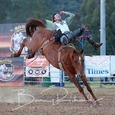 Myrtleford Rodeo 2019 - 2nd Div Bareback - Sect 1