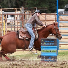 Tallangatta Rodeo 2019 - Junior Barrel Race - Slack 1