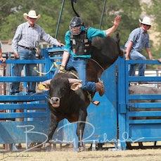 Tallangatta Rodeo 2019 - 2nd Div Bull Ride - Slack 1