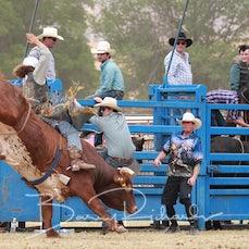 Tallangatta Rodeo 2019 - 2nd Div Bull Ride - Slack 2