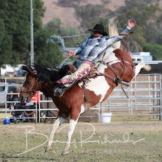 Tallangatta Rodeo 2019 - Open Saddle Bronc - Sect 1