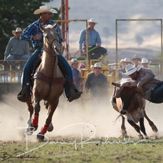 Tallangatta Rodeo 2019 - Steer Wrestling - Sect 1