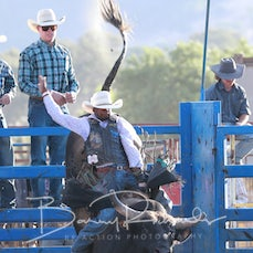 Tallangatta Rodeo 2019 - Open Bull Ride - Sect 1