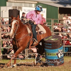 Tallangatta Rodeo 2019 - Junior Barrel Race - Sect 1
