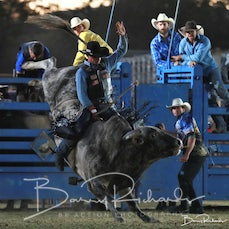 Tallangatta Rodeo 2019 - Open Bull Ride - Sect 2