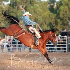 Alexandra Rodeo 2020 - Open Saddle Bronc - Sect 2