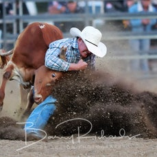 Alexandra Rodeo 2020 - Steer Wrestling - Sect 2