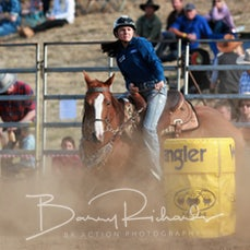 Alexandra Rodeo 2020 - Junior Barrel Race - Sect 1
