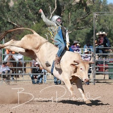 Alexandra Rodeo 2019 - Junior Bull Ride - Sect 1