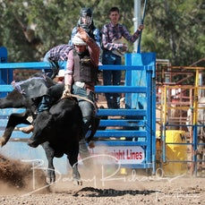 Alexandra Rodeo 2020 - Local Steer Ride - Sect 1