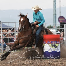 Yarra Valley Rodeo 2020 - Open Barrel Race - Sect 1